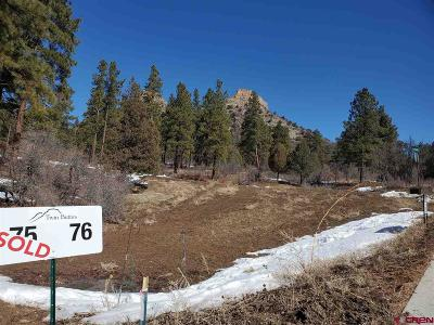 Durango Residential Lots & Land For Sale: 76 Bell Flower Court