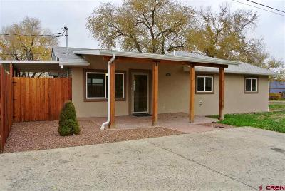 Montrose Single Family Home For Sale: 800 S Junction Avenue