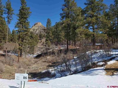Durango Residential Lots & Land For Sale: 86 Bell Flower Court