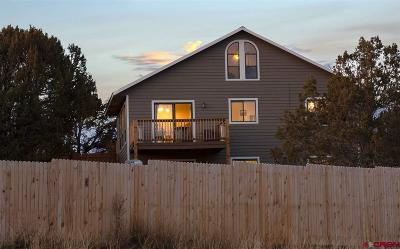 Durango Single Family Home For Sale: 50 Ridge Place
