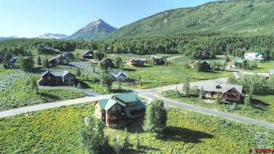 Crested Butte Single Family Home For Sale: 8 East Lane
