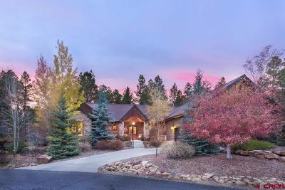Durango Single Family Home For Sale: 74 Cave Basin Court
