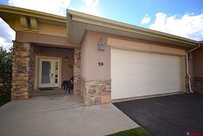 Durango Condo/Townhouse For Sale: 14 Villa Escalante Court