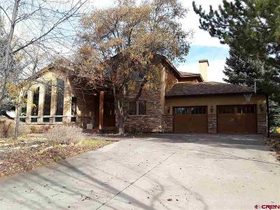 Durango Single Family Home For Sale: 25 Lewis Mtn Ln.