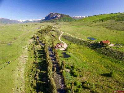 Crested Butte Single Family Home For Sale: 1 South Ranch Road