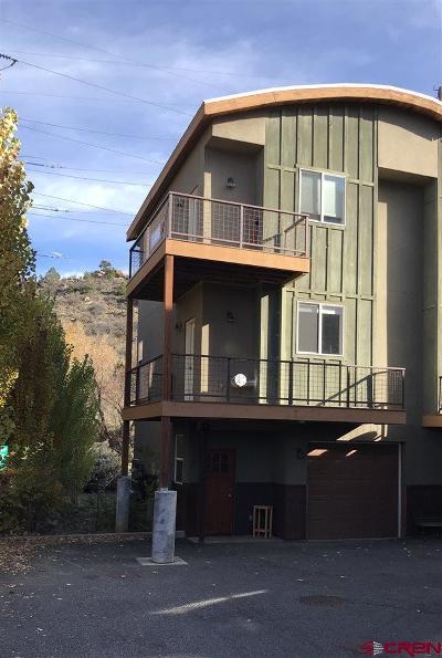 Durango Condo/Townhouse For Sale: 190 E 7th Avenue #B-1
