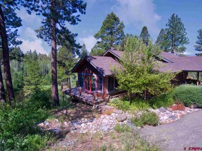 Pagosa Springs Single Family Home For Sale: 443 Valhalla Pl.