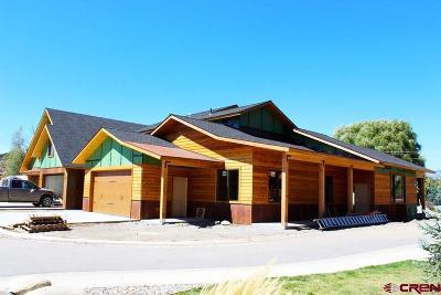 Pagosa Springs Condo/Townhouse For Sale: 3 Cobblestone Lane #3