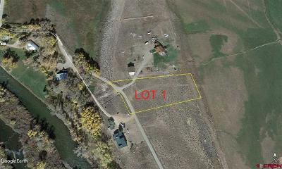 Gunnison Residential Lots & Land For Sale: 1 Lucile Place