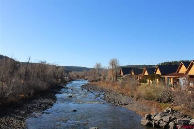 Pagosa Springs Condo/Townhouse For Sale: 2 Cobblestone Lane #2