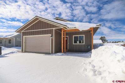 Pagosa Springs Single Family Home For Sale: 388 Vista Boulevard