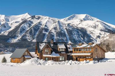 Crested Butte Single Family Home For Sale: 53 Buckhorn Way
