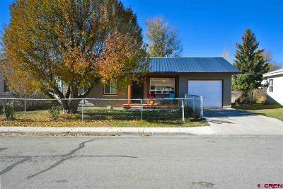 Ignacio Single Family Home For Sale: 122 Piedra Avenue