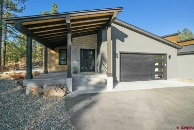La Plata County Single Family Home For Sale: 16 Yucca Court #Unit B