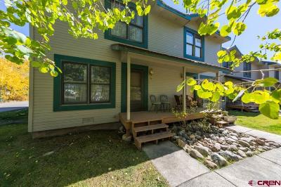 Crested Butte CO Condo/Townhouse For Sale: $349,000