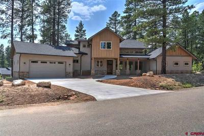 Durango Single Family Home For Sale: 65 Needle Creek Trail