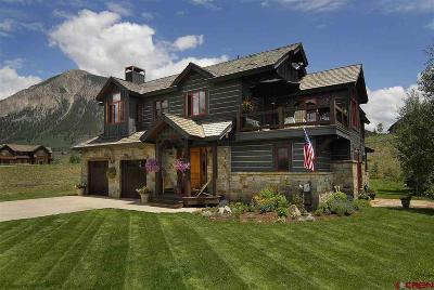 Crested Butte Single Family Home For Sale: 38 Willow Court