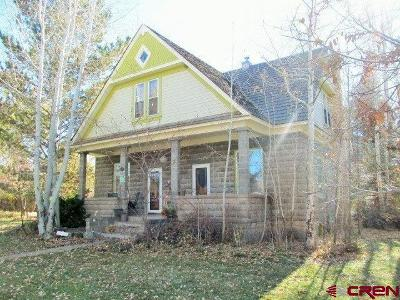 Cedaredge Single Family Home For Sale: 345 E Main Street