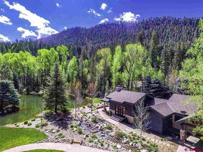 Durango CO Single Family Home For Sale: $1,400,000