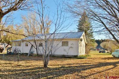 Paonia CO Single Family Home UC/Contingent/Call LB: $439,000