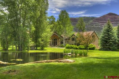 Durango CO Single Family Home For Sale: $2,495,000