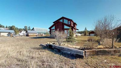 Pagosa Springs Single Family Home UC/Contingent/Call LB: 65 Midiron Ave