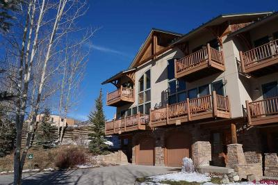 Mt. Crested Butte Condo/Townhouse For Sale: 24 Hunter Hill Road #15