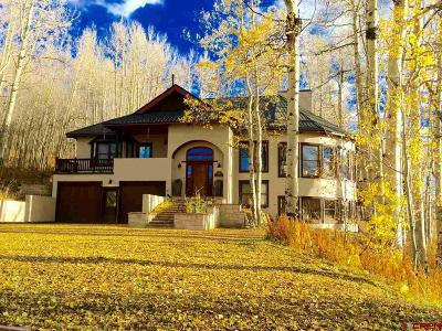 Mt. Crested Butte Single Family Home For Sale: 108 Anthracite Drive