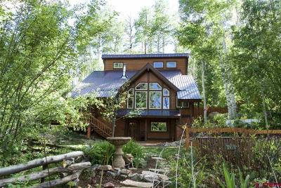 La Plata County Single Family Home For Sale: 44853 Hwy 550