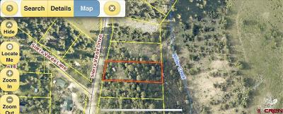 Durango Residential Lots & Land For Sale: Sierra Verde