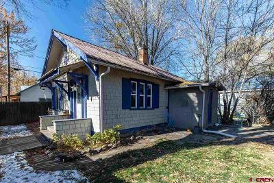 Durango Single Family Home For Sale: 661 7th Street