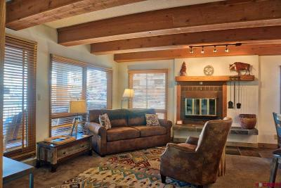 Mt. Crested Butte Condo/Townhouse UC/Contingent/Call LB: 11 Snowmass Road #341