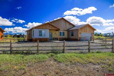 Pagosa Springs Single Family Home UC/Contingent/Call LB: 308 Peninsula Place