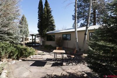 La Plata County Single Family Home UC/Contingent/Call LB: 32496 N Hwy 550