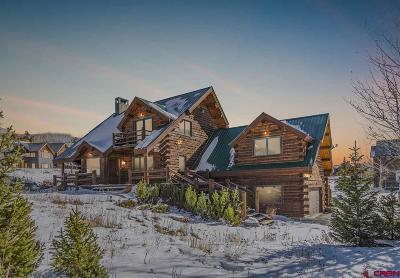Crested Butte Single Family Home For Sale: 42 Stream View Lane