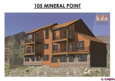 Mt. Crested Butte Single Family Home For Sale: 105 Mineral Point #A