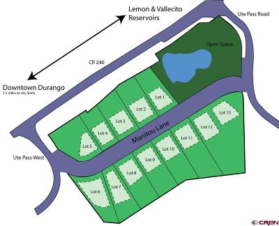 Durango Residential Lots & Land For Sale: 43 Manitou Lane