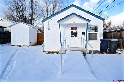 Durango CO Single Family Home UC/Contingent/Call LB: $199,000
