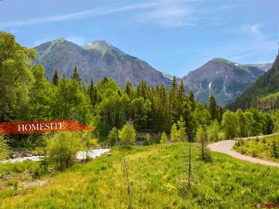 Telluride Residential Lots & Land For Sale: 3 Pandora Lane