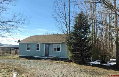 Crawford, Hotchkiss, Paonia Single Family Home UC/Contingent/Call LB: 31662 Highway 92 Highway
