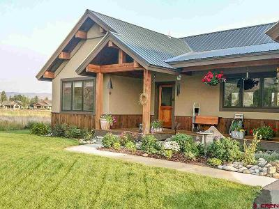 Gunnison Single Family Home UC/Contingent/Call LB: 185 Tomichi Creek Loop