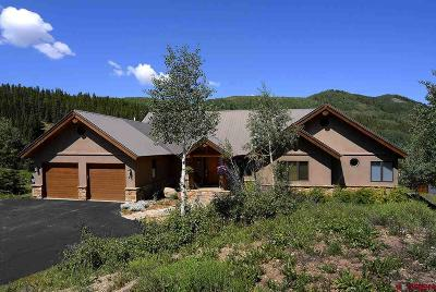 Mt. Crested Butte Single Family Home For Sale: 95 Willow Lane