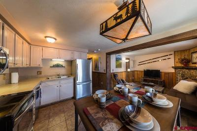 Mt. Crested Butte Condo/Townhouse For Sale: 701 Gothic Road #232