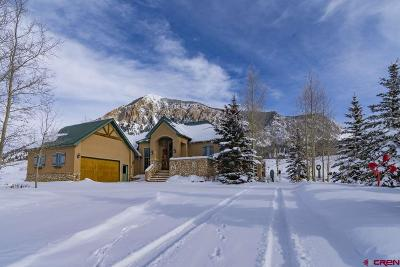 Crested Butte Single Family Home For Sale: 138 E Silver Sage Drive