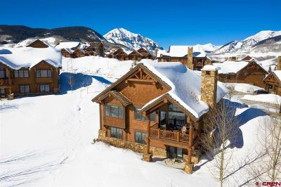 Mt. Crested Butte Single Family Home For Sale: 26 Appaloosa Road