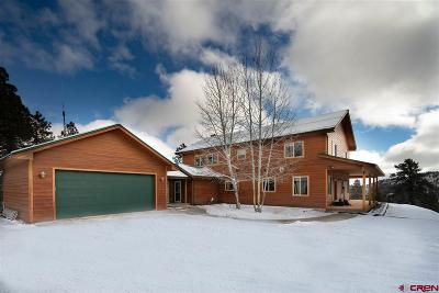 Bayfield CO Single Family Home UC/Contingent/Call LB: $725,000