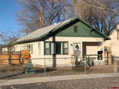 Delta CO Single Family Home For Sale: $150,000