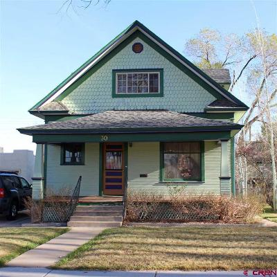 Cortez Single Family Home For Sale: 30 W Montezuma Avenue