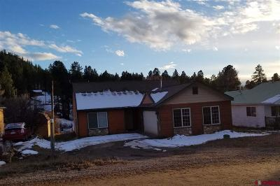 Pagosa Springs Single Family Home UC/Contingent/Call LB: 310 Meadowbrook Drive