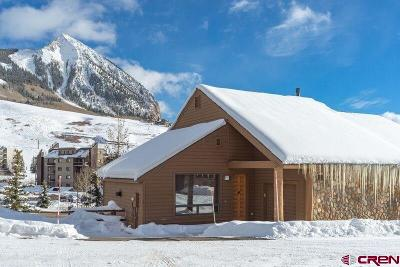 Mt. Crested Butte Condo/Townhouse For Sale: 117 Snowmass Road #5A